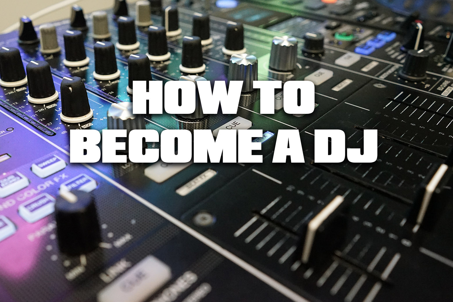 What do you need to become a DJ?